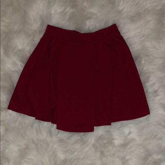Dresses & Skirts - red skater skirt